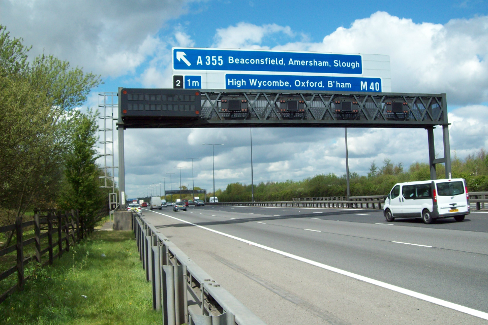 Message signs upgrade on M40